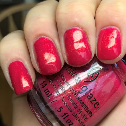 CHINA GLAZE - STRAWBERRY FIELDS
